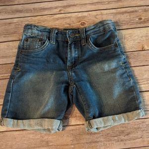 Lucky Brand Rolled Denim Shorts